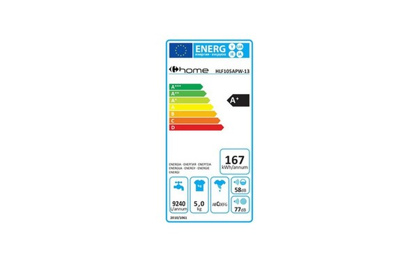Carrefour Home Hlf105apw 13 Hlf 105 Apw 13 Fiche